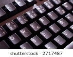 keyboard in the night | Shutterstock . vector #2717487