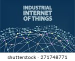industrial internet of things... | Shutterstock .eps vector #271748771
