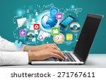 healthcare and medicine. doctor | Shutterstock . vector #271767611
