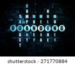 advertising concept  pixelated... | Shutterstock . vector #271770884