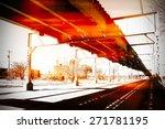 urban scene at chicago   Shutterstock . vector #271781195