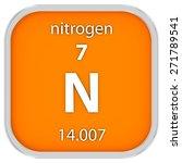 nitrogen material on the...   Shutterstock . vector #271789541