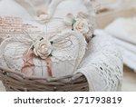 stuffed heart | Shutterstock . vector #271793819