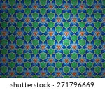 textile cloth colorful | Shutterstock . vector #271796669