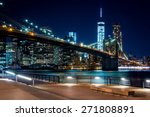 brooklyn bridge  downtown... | Shutterstock . vector #271808891