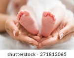 adult  baby  background. | Shutterstock . vector #271812065