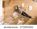 view from above  looking at the ... | Shutterstock . vector #271854581