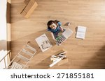 top view  looking at the camera ... | Shutterstock . vector #271855181