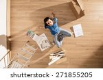 view from above  looking at the ... | Shutterstock . vector #271855205