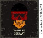 skull color of the flag | Shutterstock .eps vector #271856891
