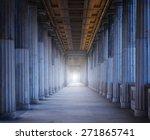 A Long Corridor Between Many...