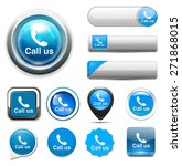 call us icon | Shutterstock . vector #271868015