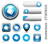 cube icon | Shutterstock . vector #271878131