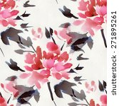 seamless pattern with... | Shutterstock . vector #271895261