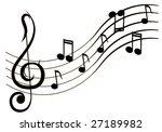 music | Shutterstock .eps vector #27189982