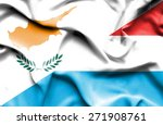waving flag of luxembourg and... | Shutterstock . vector #271908761