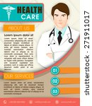 health care template  brochure... | Shutterstock .eps vector #271911017