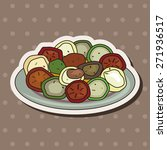 italian food theme elements | Shutterstock .eps vector #271936517