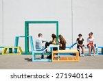 milan  italy   april 15  milan... | Shutterstock . vector #271940114
