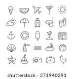 collection of icons... | Shutterstock .eps vector #271940291