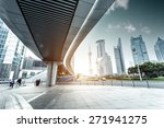 urban road and modern city... | Shutterstock . vector #271941275