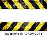 Warning Zone Pattern In Front...