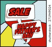 fathers day design over green... | Shutterstock .eps vector #271949024