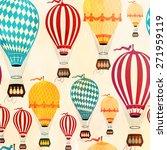 air balloon pattern