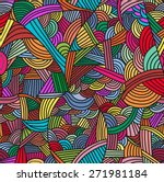 Seamless Pattern With Hand...