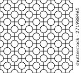 black and white geometric...   Shutterstock .eps vector #271988465