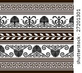 set of  antique vector elements ... | Shutterstock .eps vector #27201301