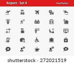airport icons. professional ... | Shutterstock .eps vector #272021519