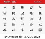 airport icons. professional ... | Shutterstock .eps vector #272021525