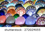 traditional ceramic pottery in... | Shutterstock . vector #272029055