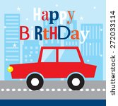 birthday card | Shutterstock .eps vector #272033114