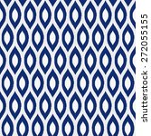 seamless porcelain indigo blue... | Shutterstock .eps vector #272055155