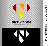 letter n logo icon design... | Shutterstock .eps vector #272066054