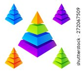 vector isometric colorful... | Shutterstock .eps vector #272067509