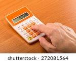 calculator  financial advisor ... | Shutterstock . vector #272081564