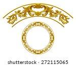 Golden Ornamental Segment  ...