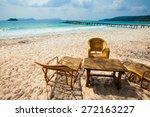 Summer Seascape On Tropical...