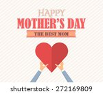 happy mother's day vector... | Shutterstock .eps vector #272169809