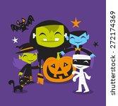 a vector illustration of... | Shutterstock .eps vector #272174369