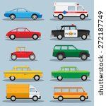 vector set of various city... | Shutterstock .eps vector #272187749