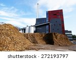 bio power plant with storage of ... | Shutterstock . vector #272193797