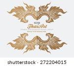 thai art element for design   | Shutterstock .eps vector #272204015