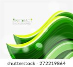 abstract realistic solid wave... | Shutterstock .eps vector #272219864