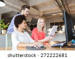 business  startup and people... | Shutterstock . vector #272222681