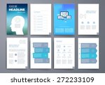 template. vector brochure... | Shutterstock .eps vector #272233109