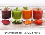 Four Summer Drink Vegetable...